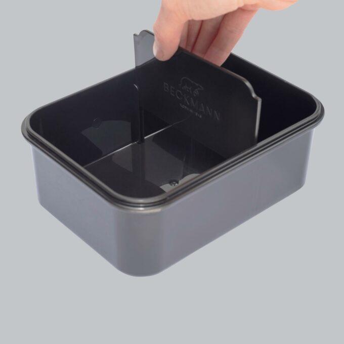 Matboks ninja tiger, med praktisk uttakbar skillevegg, plass til yoghurt