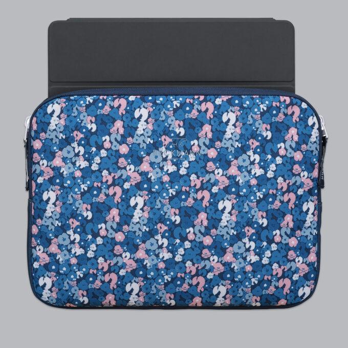 """Omslag for nettbrett 12,9"""", flower, fôret beskyttelse som passer blant annet iPad"""