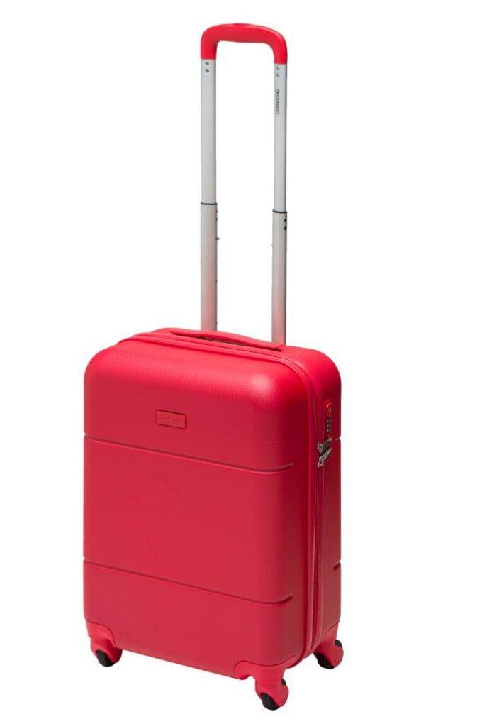 Trillekoffertsett, rød, minste størrelsen, frontbilde, rent design