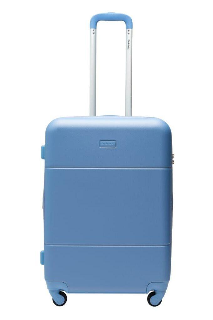 Trillekoffertsett, denim, medium størrelsen, frontbilde, rent design