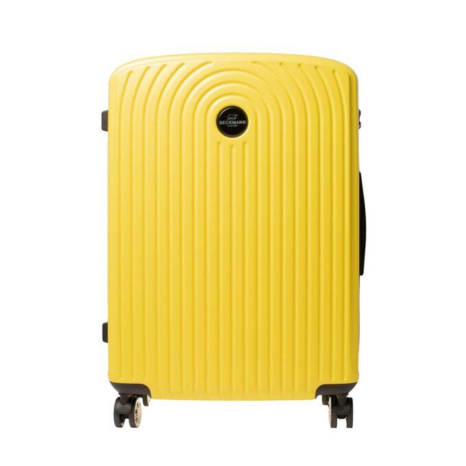 Motion, trillekoffertsett, yellow, største størrelsen frontbilde
