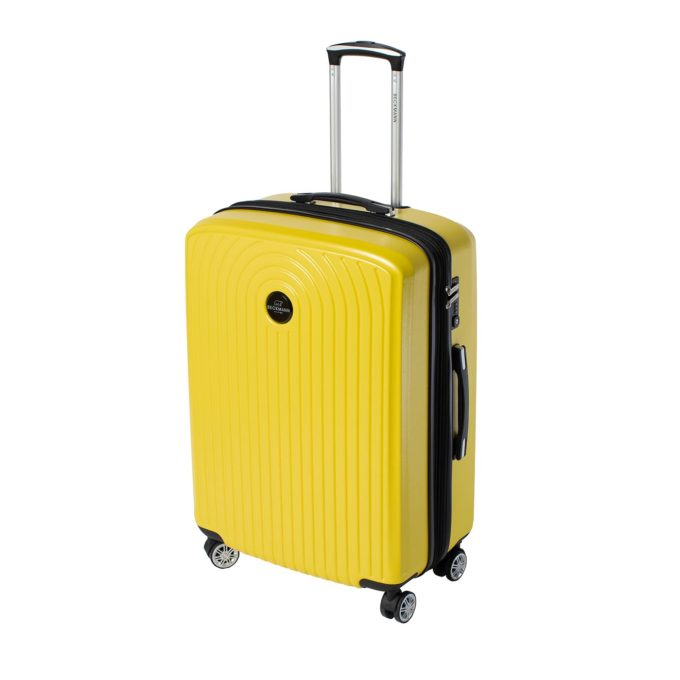 Motion, trillekoffertsett, yellow, medium størrelsen frontbilde