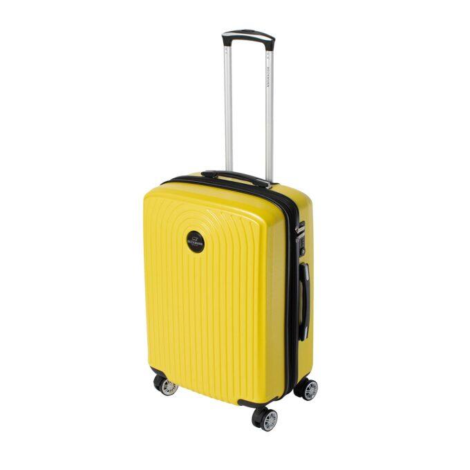Motion, trillekoffert, yellow, største størrelsen frontbilde