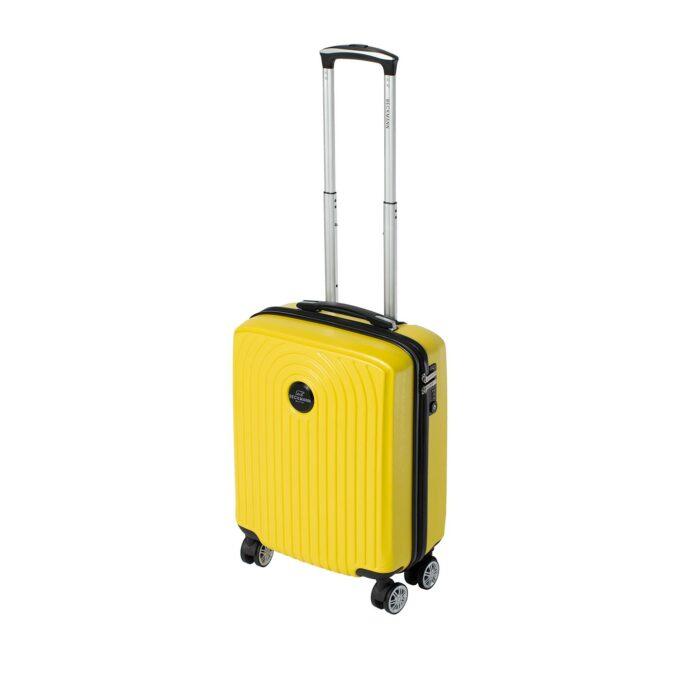 Motion, kabinkoffert, yellow, frontbilde, 4 hjul
