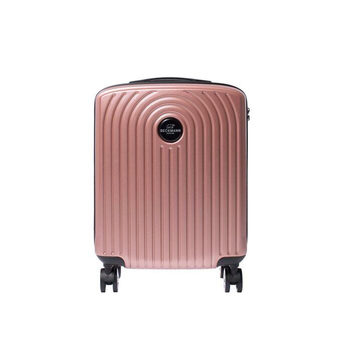 Motion, kabinkoffert, rose pink, frontbilde, moderne design
