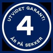 4 års garanti på sekker - beckmann