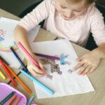 Førskoleaktiviteter - fargelegge