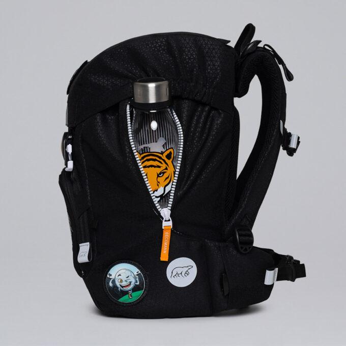 Classic tiger team, utvendig rom til drikkeflaske eller paraply, utskiftbare buttons
