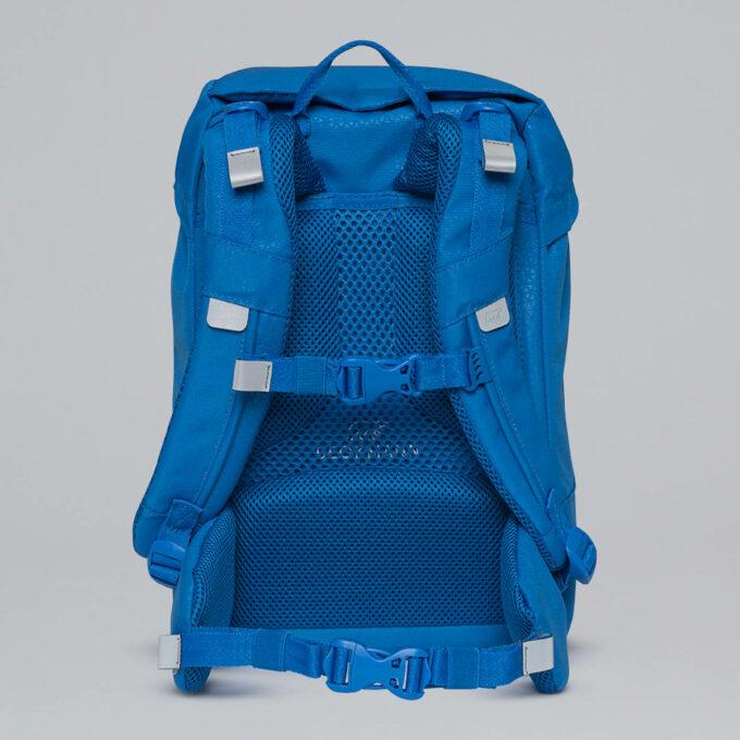 Classic, Patch 1. klassesekk blå - rygg med god lufting