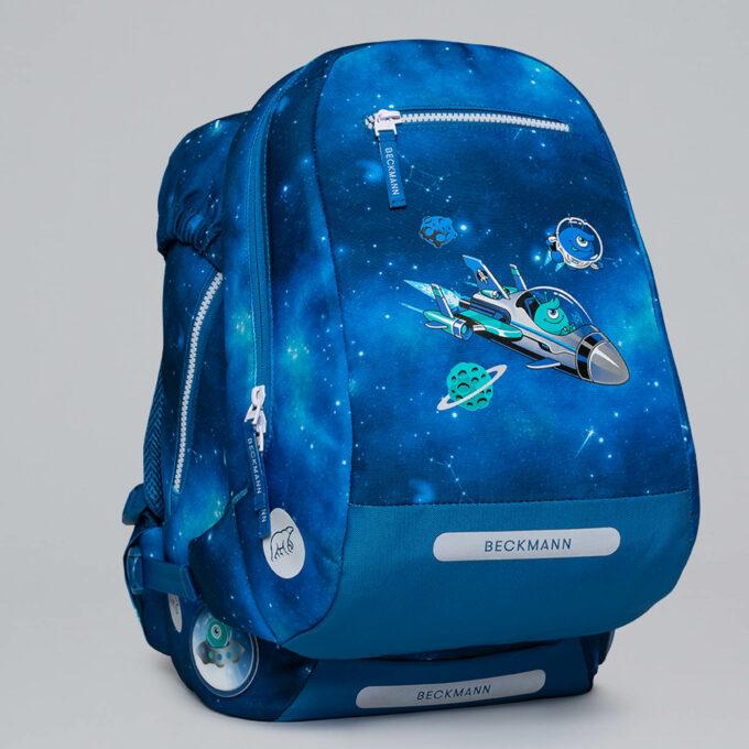Gym-/tursekk galaxy, festes enkelt til skolesekken