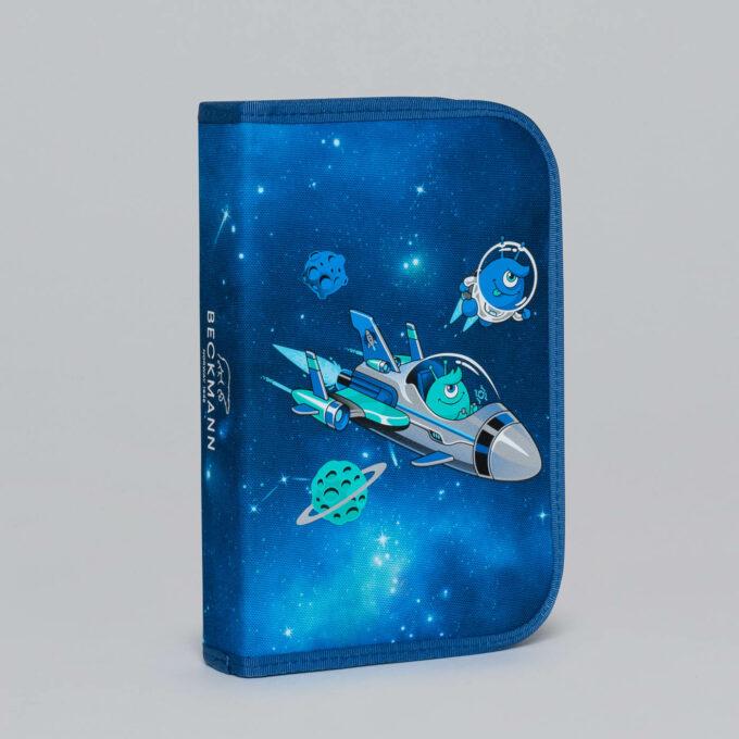 Ettlagspennal galaxy, blå med mønster
