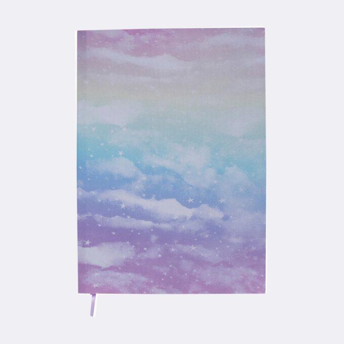 Bokbind elastisk unicorn, passer flere størrelser, regnbuefarget