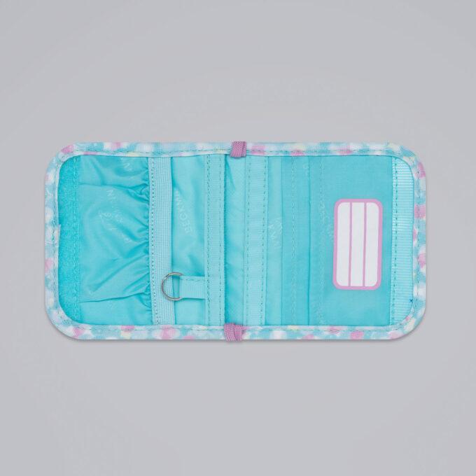 Lommebok sweetie, nøkkelring, navnelapp
